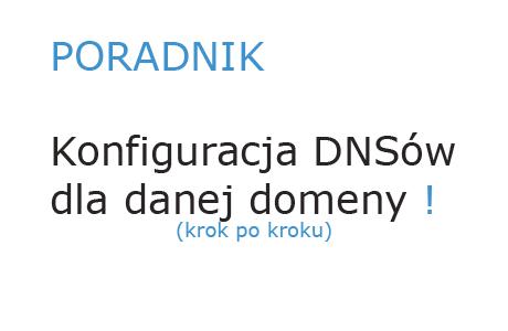 Konfiguracja DNS dla danej domeny